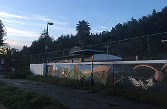 Redway, California - Mural in Redway