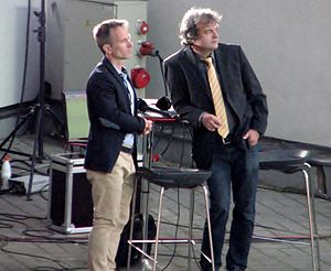 Martin Reim - Reim (left) with Marko Kaljuveer in 2014