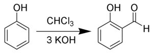 Salicylaldehyde - Preparation of salicylaldehyde via the Reimer–Tiemann reaction