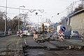 Rekonstrukce Nábřeží Kapitána Jaroše, pohled k Čechovu mostu.jpg