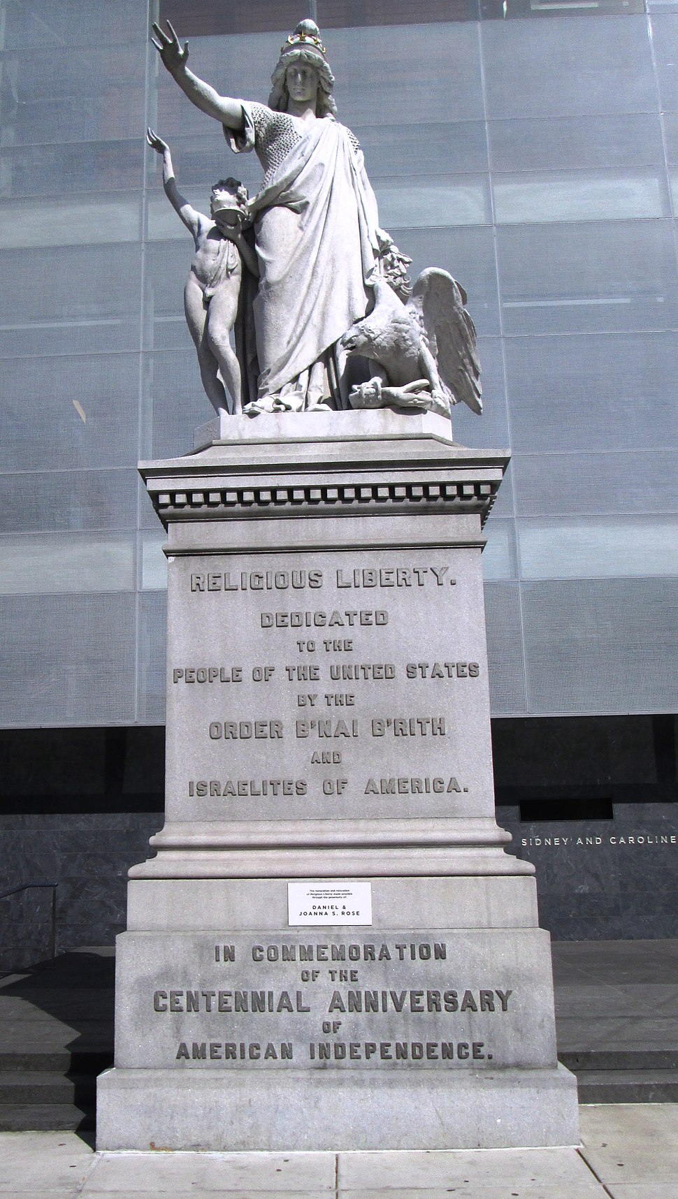 Religious Liberty by Jacob Moses Ezekiel