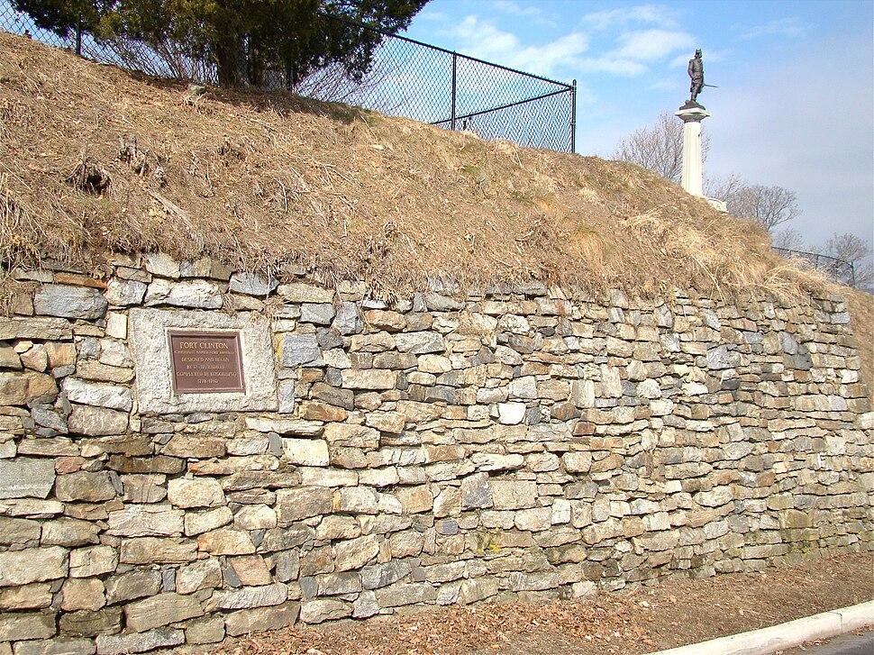 Remains of Ft. Clinton, NY