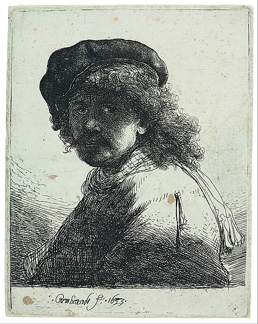 Rembrandt Harmensz. van Rijn - Self-Portrait - Google Art Project