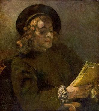 Titus van Rijn - Portrait of Titus (Kunsthistorisches Museum, Vienna)