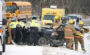 Bethany and Omemee division firefighters remov...
