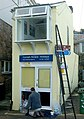 Repainting the Cornish Riviera Holidays office, St Ives - geograph.org.uk - 1702956.jpg