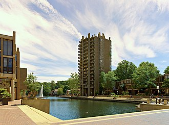 Reston, Virginia - Lake Anne Plaza in Reston