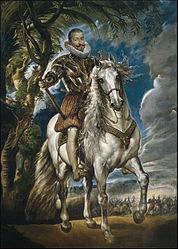 Peter Paul Rubens: Equestrian Portrait of the Duke of Lerma