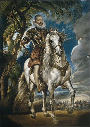 Equestrian Portrait of the Duke of Lerma - Image: Retrato ecuestre del duque de Lerma (Rubens)