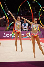 Rhythmic gymnastics at the 2012 Summer Olympics (7915015836).jpg