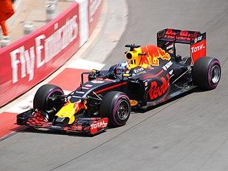 2016 Monaco Grand Prix - Daniel Ricciardo achieved the first pole position of his career.