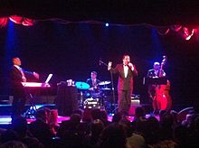 Richard Cheese & Lounge Against The Machine performing live in 2011