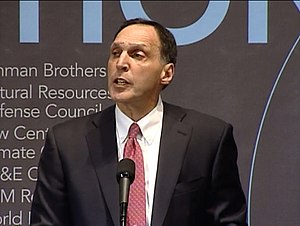 Richard S. Fuld Jr. - Fuld speaking at a World Resources Institute forum in January 2007.