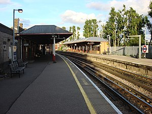 Rickmansworth station - Image: Rickmansworth station 3