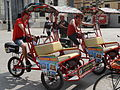 Rickshaw Tours - cycle taxis in Barcelona 01.JPG