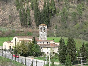 Rignano sull'Arno - Pieve (rural church) of San Leonino.
