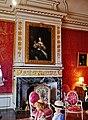 Rigny-Ussé Château d'Ussé Innen Chambre du Roi Kamin.jpg