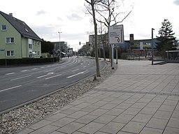 Ringstraße in Raunheim