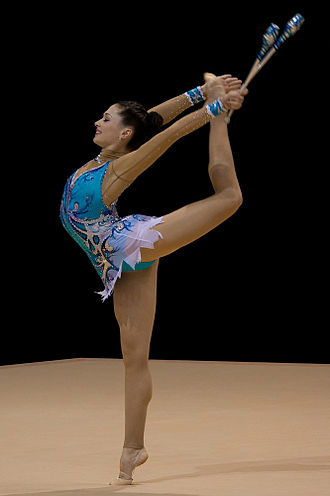 Israel at the 2008 Summer Olympics - Rhythmic gymnast Irina Risenzon