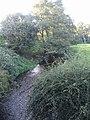 River Swarbourn upstream of Woodlane Bridge - geograph.org.uk - 1508146.jpg