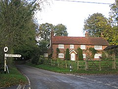 Road Junction at Shalden in Hampshire - geograph.org.uk - 73002.jpg