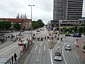 Road junction from Mundsburg U-Bahn station - geo.hlipp.de - 36399.jpg