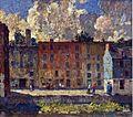 Robert Spencer A row of tenements 1915.jpg