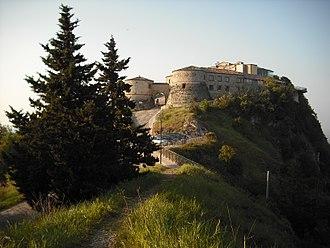 House of Malatesta - Image: Rocca di Torriana (maggio 2011)