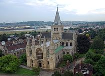 Rochester Cathedral from Castle.JPG