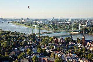 Cologne Rodenkirchen Bridge