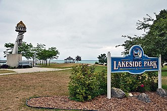 Rogers City, Michigan - Lakeside Park