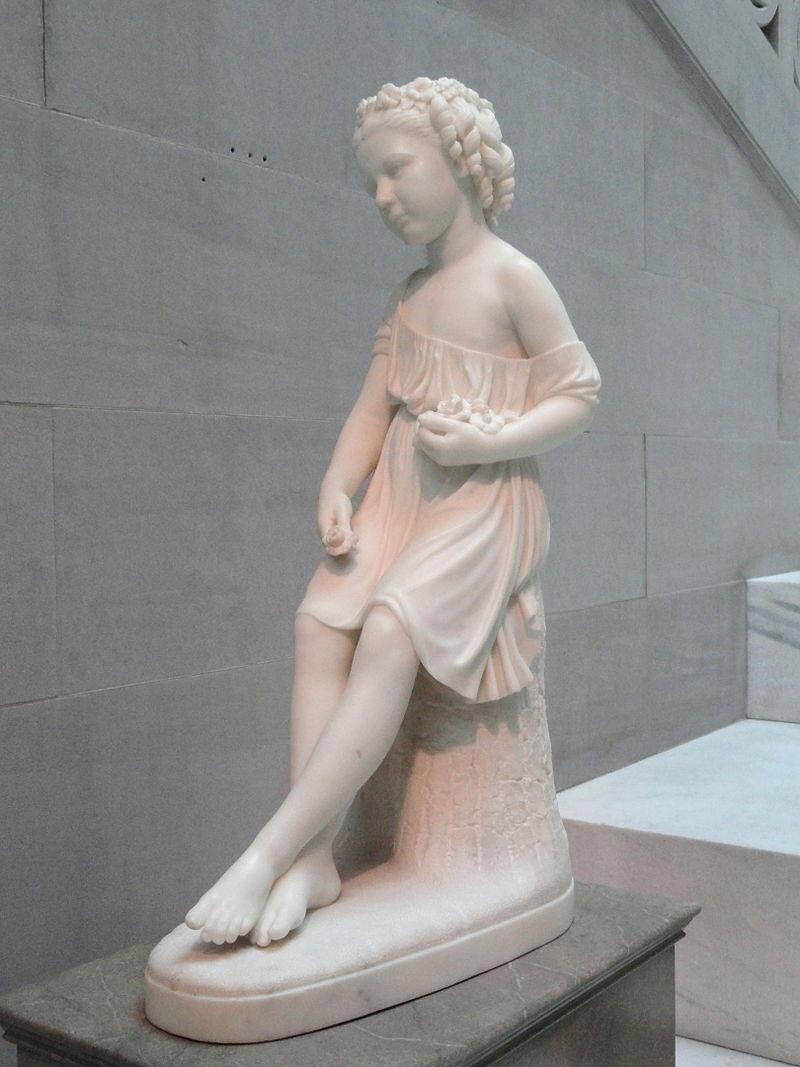Roma Lyman by William Henry Rinehart, 1873 - Corcoran Gallery of Art - DSC01074.JPG