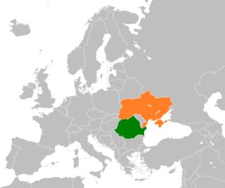 Diplomatic relations between Romania and Ukraine