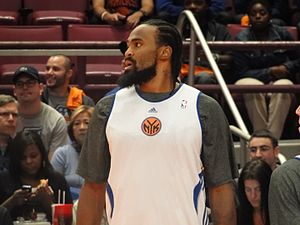 Ronny Turiaf - Turiaf with the New York Knicks in 2010.