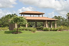South Texas Botanical Gardens U0026 Nature Center. Rose Garden Pavilion Photo  2.JPG