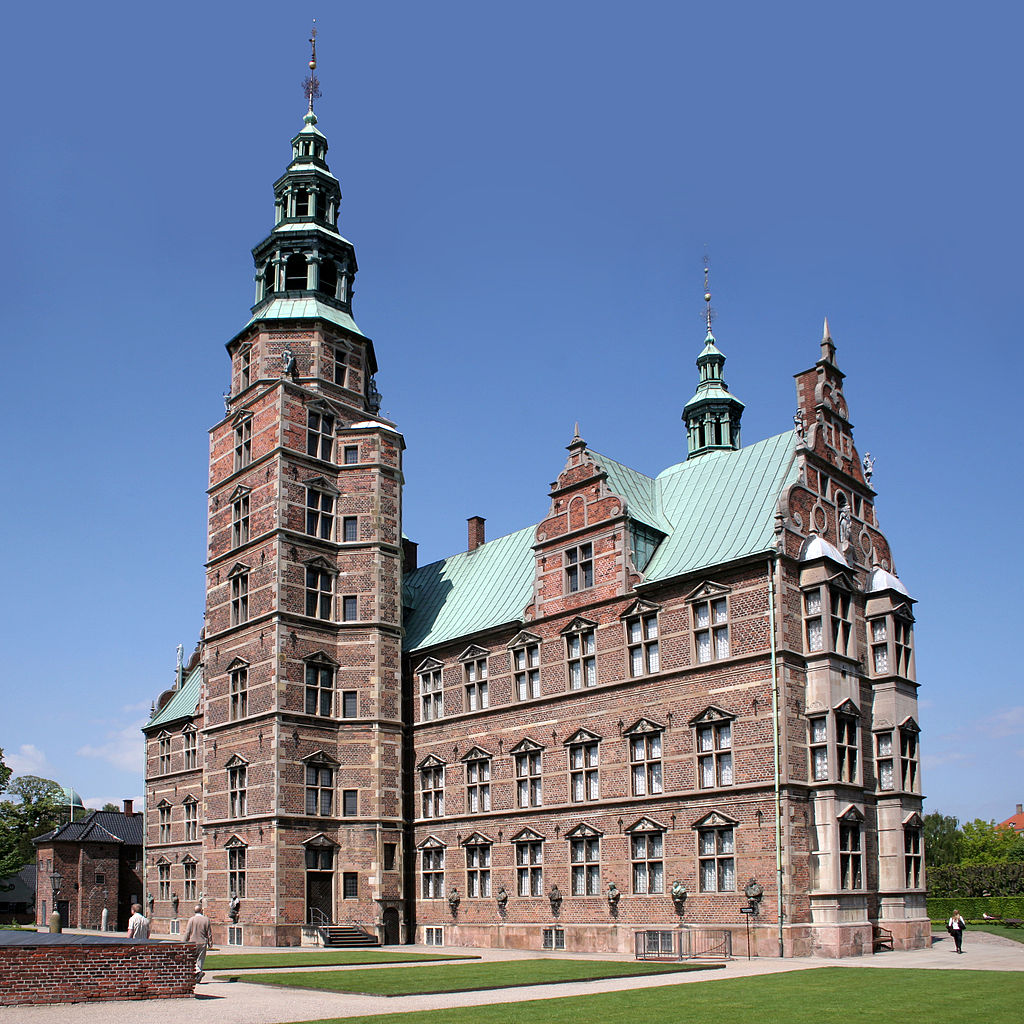 Chateau de Rosenborg de Copenhague - Photo de David Castor