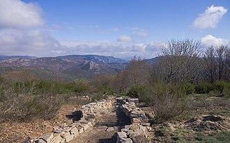 Haut-Languedoc Regional Nature Park - Haut-Languedoc Regional Natural Park, commune of Rosis, Hérault, France.