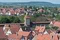 Rothenburg ob der Tauber, Kummereck, Henkersturm, vom Rathausturm 20170526 001.jpg