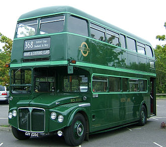 AEC Routemaster - Preserved RCL2233 in London Transport Green Line livery