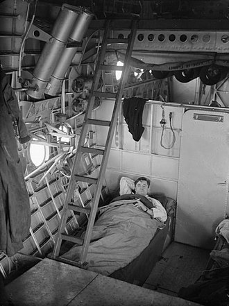 Short Sunderland - Bunk area