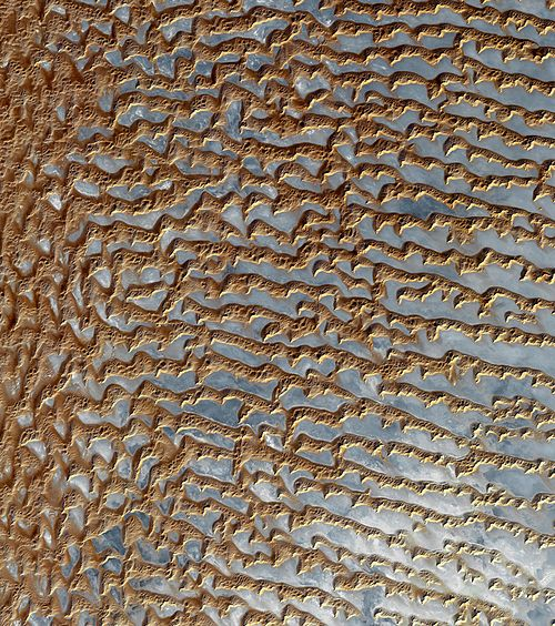 Rub' al Khali (Arabian Empty Quarter) sand dunes imaged by Terra (EOS AM-1).jpg
