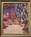 Rubaldo merello, terrazza fiorita o giardino con glicine, 1910-14.JPG