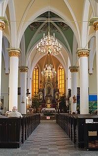 Ruda Slaska Beheading of Saint John the Baptist chuch interior 2021.jpg