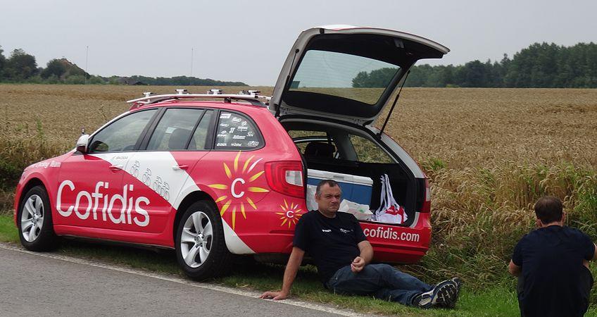 Rumillies (Tournai) - Tour de Wallonie, étape 1, 26 juillet 2014, ravitaillement (A14).JPG