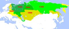 Mapa Imperium Rosyjskiego
