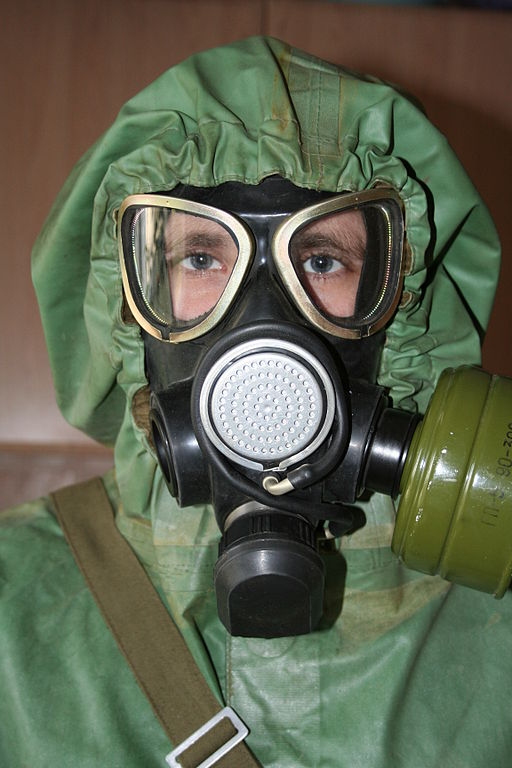 Russian gas mask ПМК-2