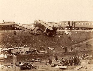 Последствия крушения поезда