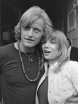 Turkish Delight (1973 film) - Rutger Hauer and Monique van de Ven in June 1972