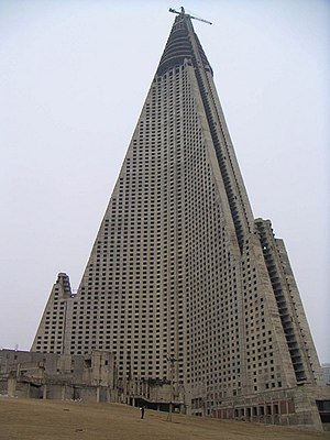Ryugyong Hotel - Image: Ryugyong hotel 01