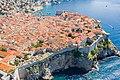 Südlicher Teil der Stadtmauer in der Altstadt von Dubrovnik, Kroatien (48613009856).jpg